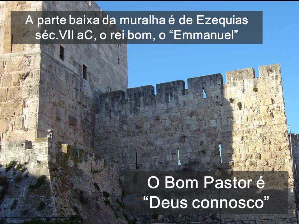 Depois de curar o cego de nascimento, atravessando a cidade, Jesus diz que Ele é o Pastor verdadeiro Cardus maximus da Jerusalém romana PÁSCOA: o prim
