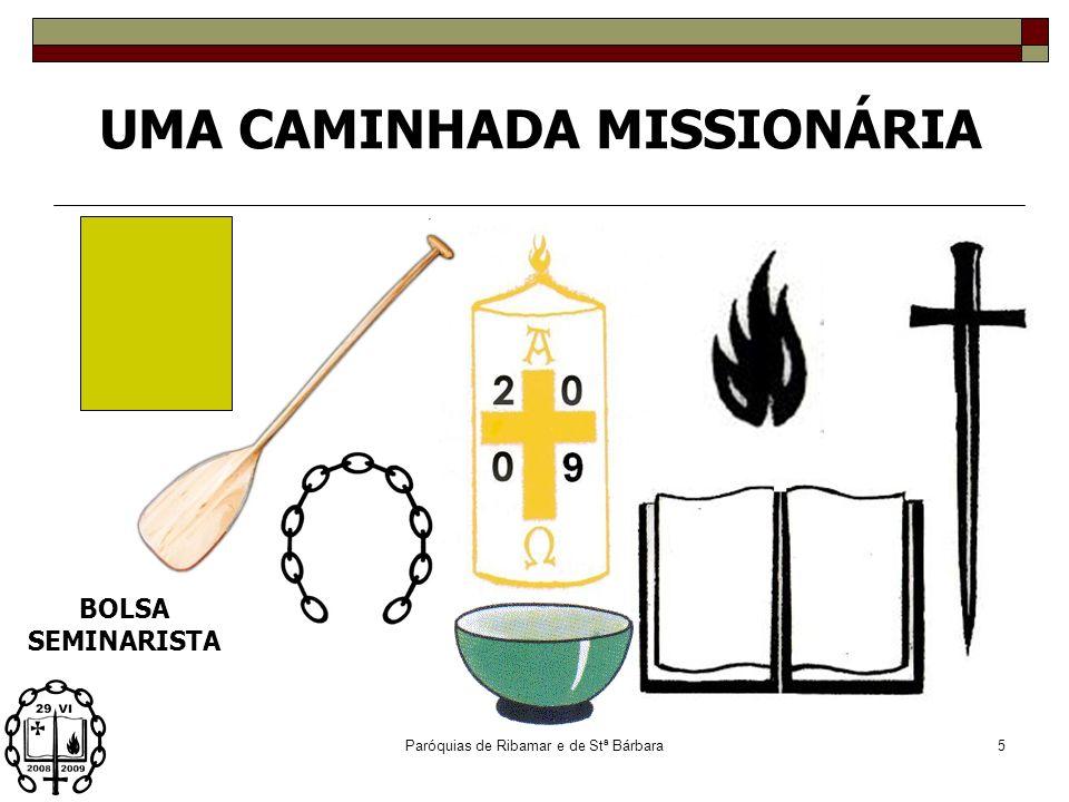 Paróquias de Ribamar e de Stª Bárbara4 uma lancha … um círio uma dinâmica pastoral