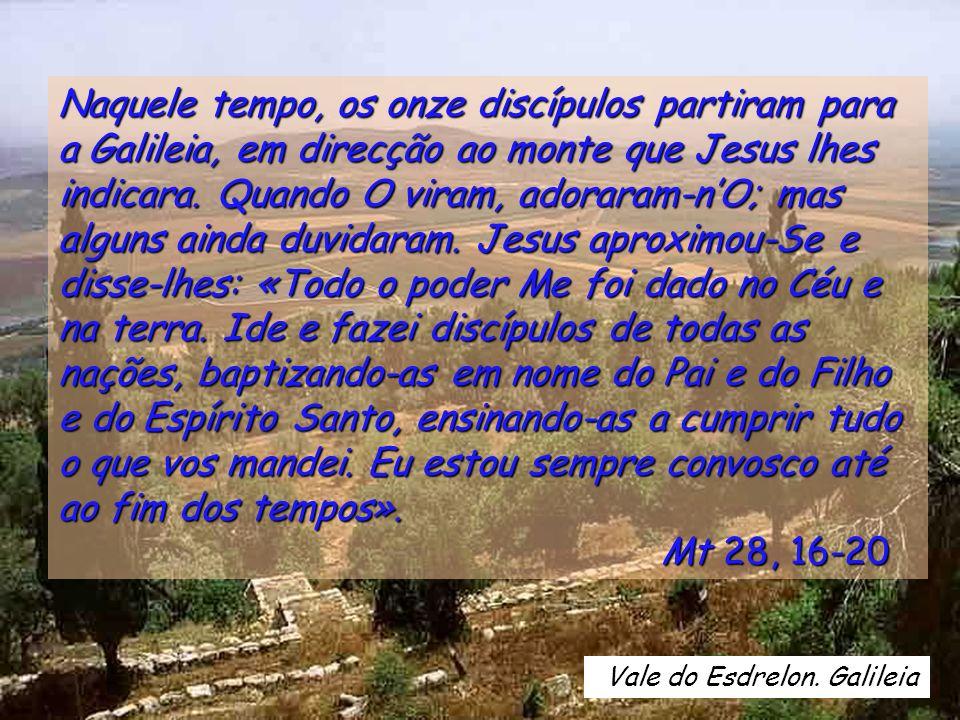 Glória ao Pai e ao Filho e ao Espírito Santo, ao Deus que é, que era e que há-de vir. Cf.Ap 1,8 Glória ao Pai e ao Filho e ao Espírito Santo, ao Deus