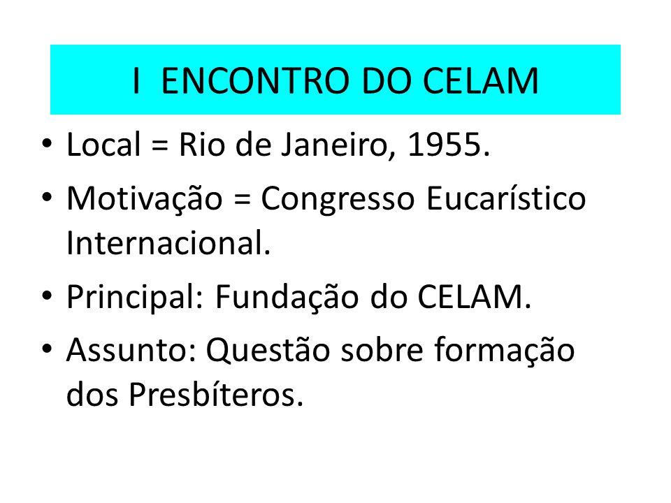 A Conferência Nacional dos Bispos do Brasil 1952: fundação da CNBB.