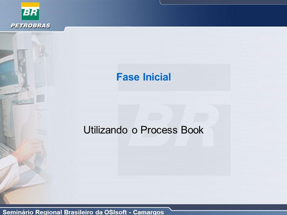 Seminário Regional Brasileiro da OSIsoft - Camargos Fase Inicial Utilizando o Process Book
