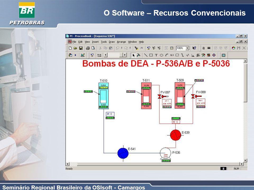 Seminário Regional Brasileiro da OSIsoft - Camargos O Software – Recursos Convencionais