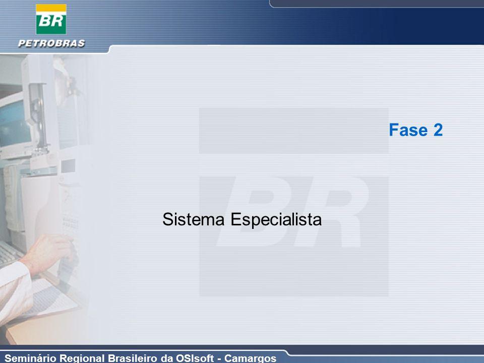 Seminário Regional Brasileiro da OSIsoft - Camargos Fase 2 Sistema Especialista