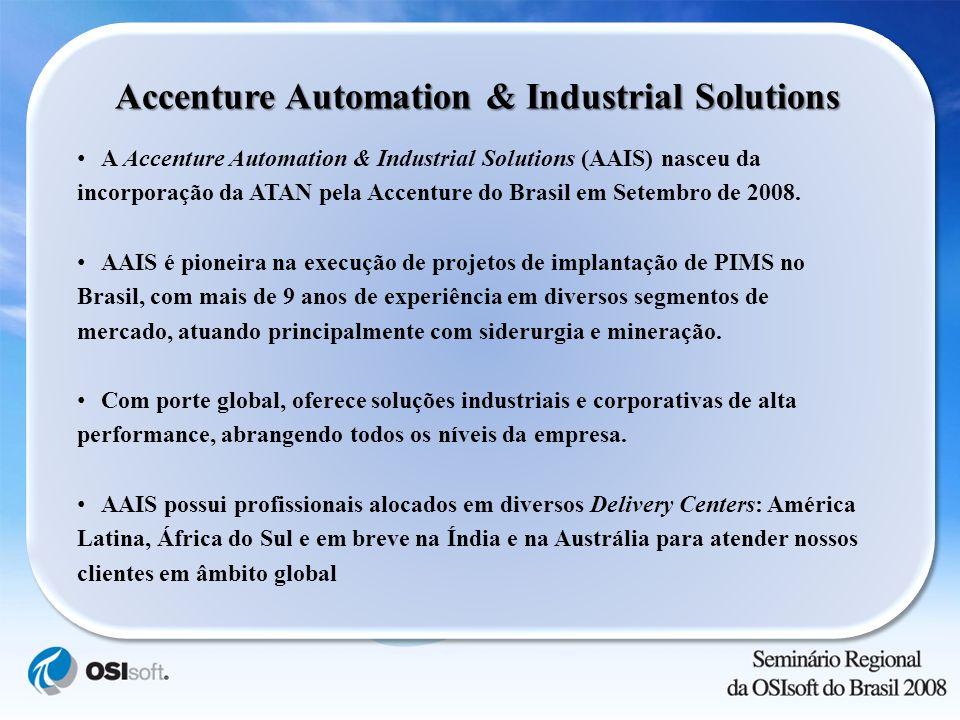 A Accenture Automation & Industrial Solutions (AAIS) nasceu da incorporação da ATAN pela Accenture do Brasil em Setembro de 2008. AAIS é pioneira na e