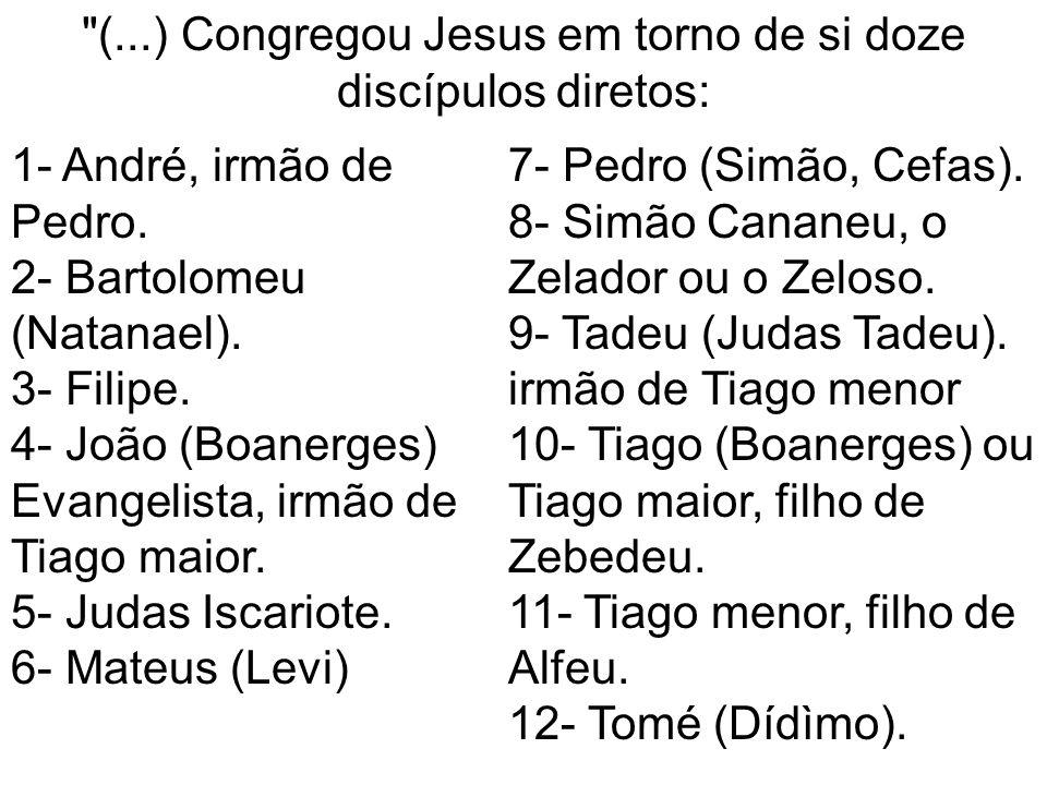 (..;) Simão, mencionado como Simão Cananeu, em Mateus, 10:09 e Marcos, 3:18; como Simão, chamado o Zelador , em Lucas, 6:15; como Simão, o Zelador, em Atos dos Apóstolos, 1:13.