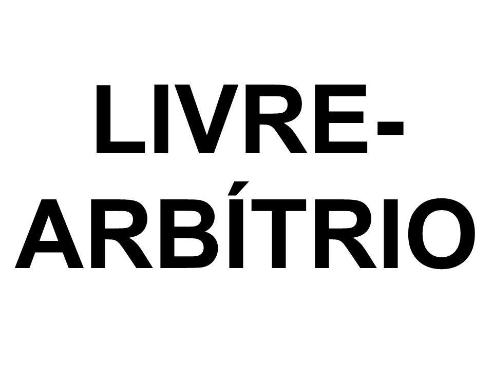 LIVRE- ARBÍTRIO