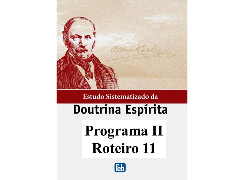 Programa II Roteiro 11