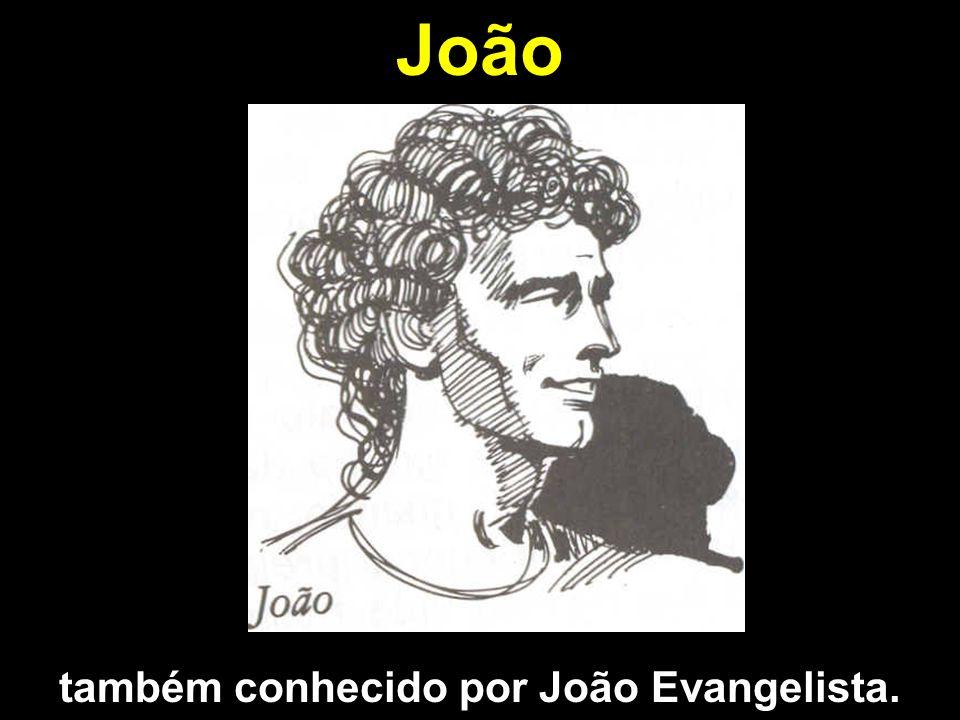 João também conhecido por João Evangelista.
