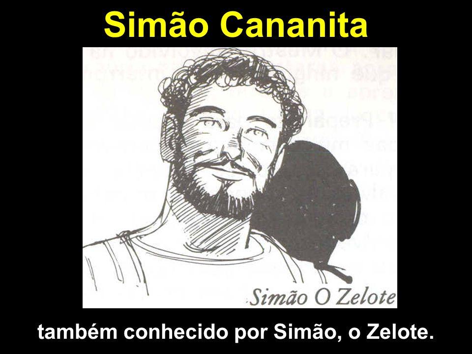 Simão Cananita também conhecido por Simão, o Zelote.