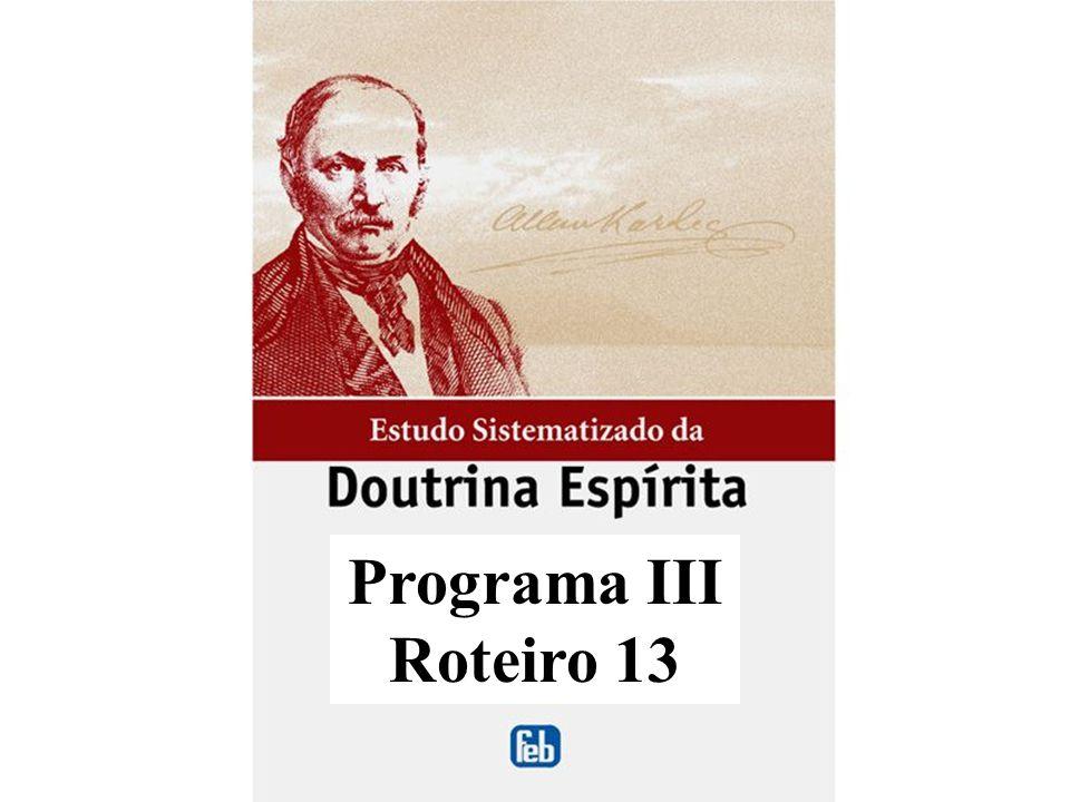 Programa III Roteiro 13