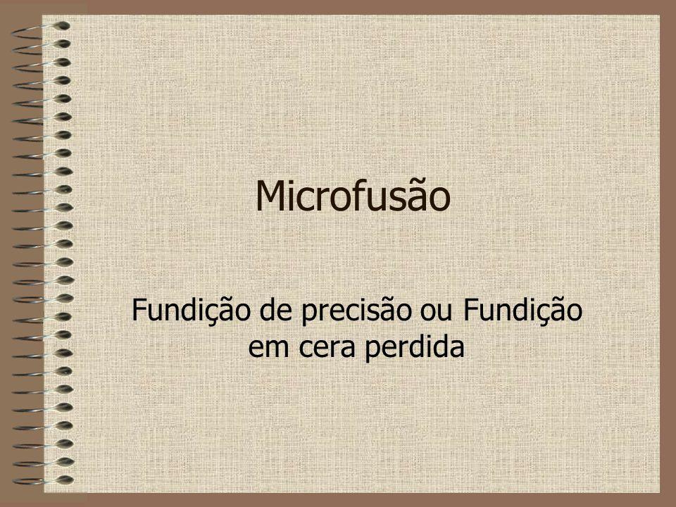 Microfusão Fundição de precisão ou Fundição em cera perdida