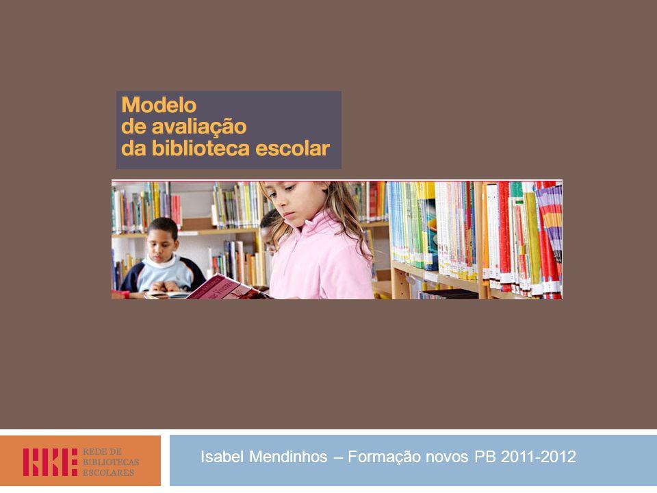 Isabel Mendinhos – Formação novos PB 2011-2012