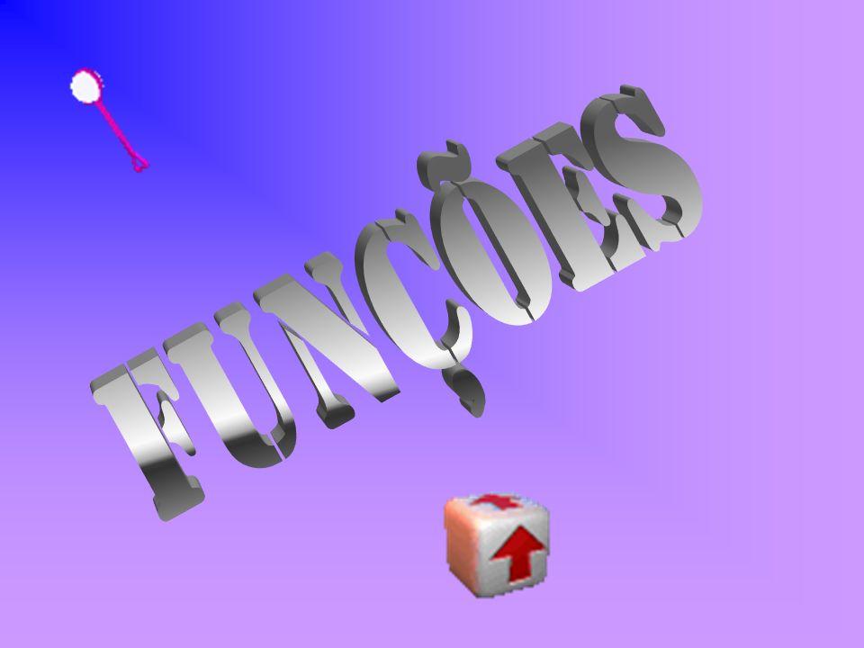 Funções descrevem relações especiais entre 2 objetos: x e y=f(x); x é chamado de argumento da função f; e y, de imagem; Uma função é uma forma de referenciar um único valor de y para cada argumento x; Uma função mapeia um conjunto, chamado de domínio (conjunto de valores de entrada), a outro conjunto, chamado contra-domínio ou imagem (conjunto de valores de saída); Cada elemento do domínio é associado a exatamente um elemento do contra-domínio; O conjunto de valores de y relacionados a algum x são chamados imagem da função; Lei da Função é a fórmula que origina, isto é que dá origem a função.