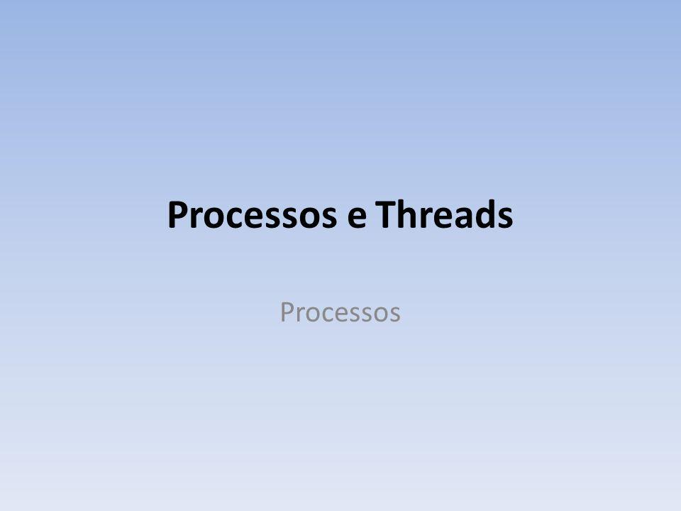 Processos e Threads Processos