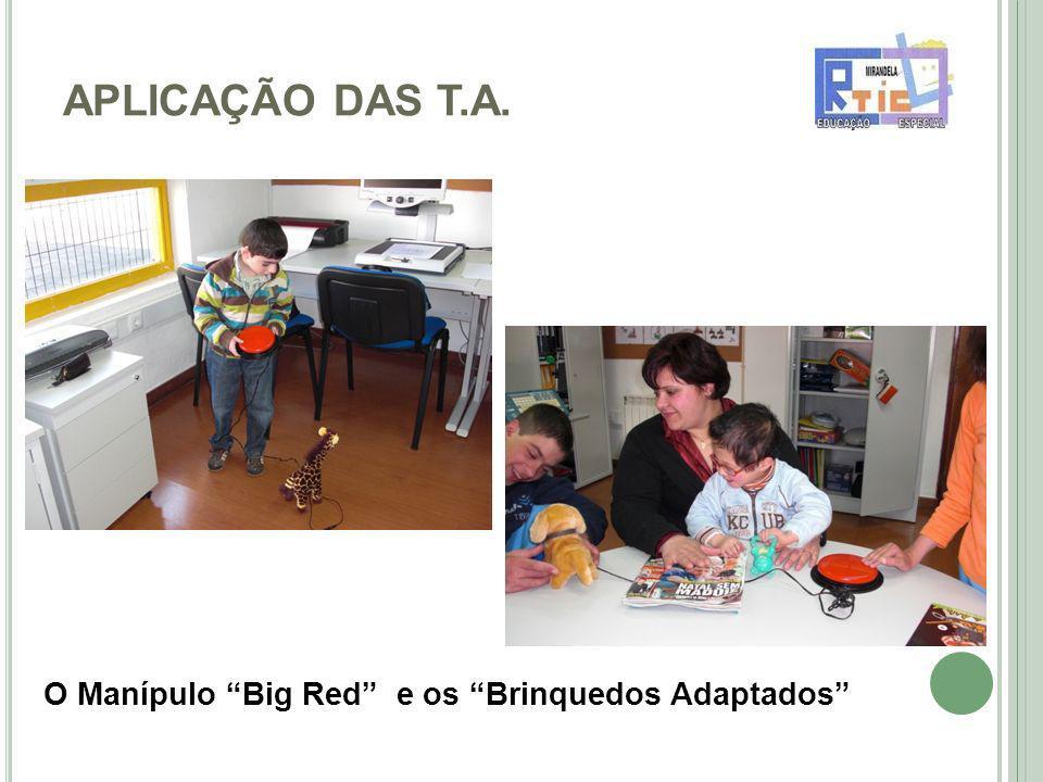APLICAÇÃO DAS T.A. O Manípulo Big Red e os Brinquedos Adaptados