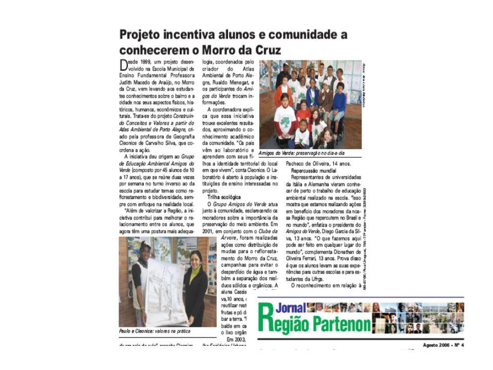 Biblioteca incentiva a leitura de moradores do Morro da Cruz Fotos: Ricardo Alexandre G.