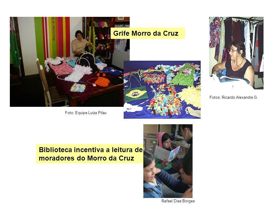 Biblioteca incentiva a leitura de moradores do Morro da Cruz Fotos: Ricardo Alexandre G. Foto: Equipe Luiza Pilau Rafael Dias Borges Grife Morro da Cr