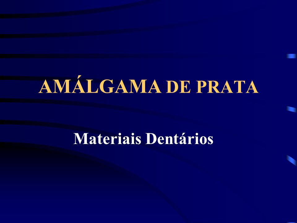 CARACTERÍSTICAS DO AMÁLGAMA RICO EM 2 Pequena resistência a compressão Grande escoamento Fratura marginal Corrosão acentuada