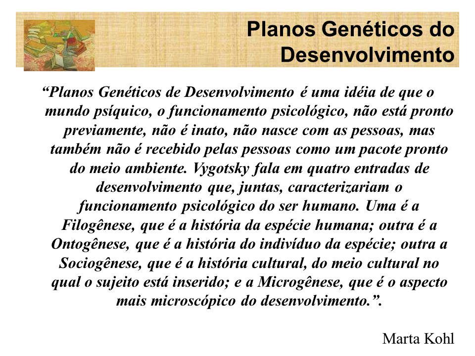 Filogênese - A filogênese estuda a história da evolução animal/humana, nomeadamente a constituição dos seres humanos como sujeitos cognitivos.
