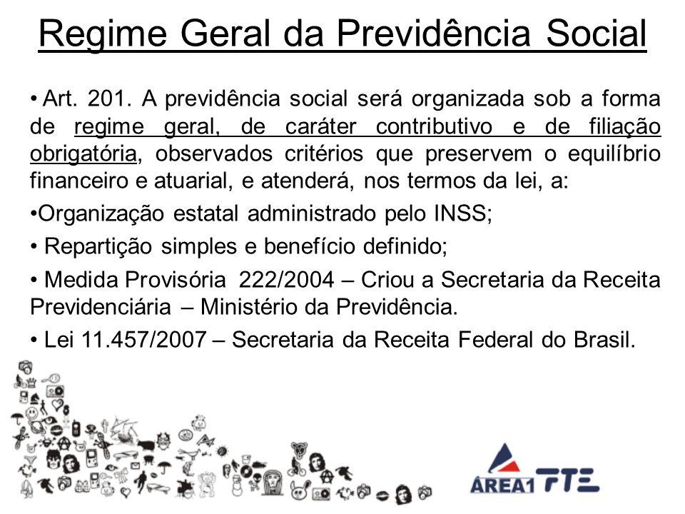 Regime Geral da Previdência Social Art.201.