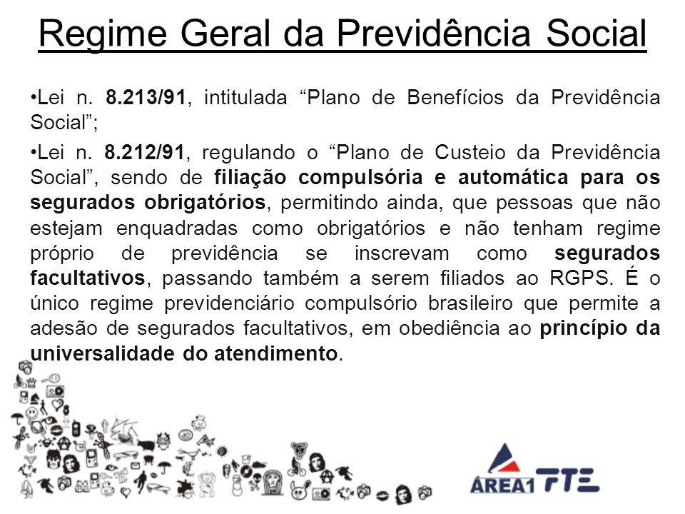 Regime Geral da Previdência Social Lei n.