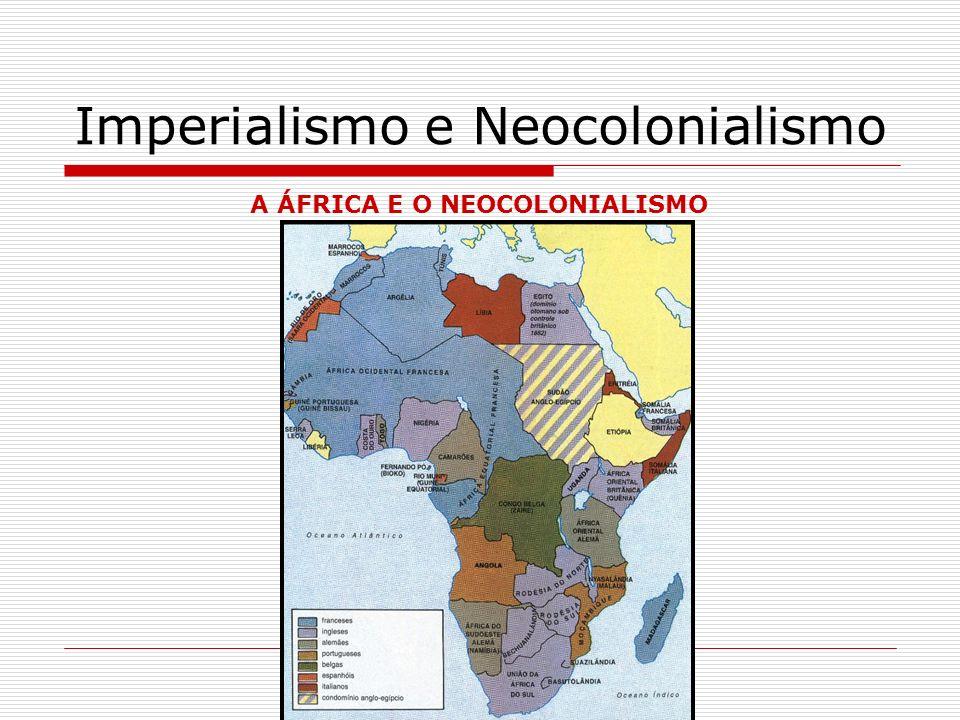 Imperialismo e Neocolonialismo Baía de Guantánamo (área de 117 km na ilha).