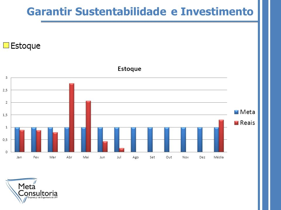 Garantir Sustentabilidade e Investimento Estoque