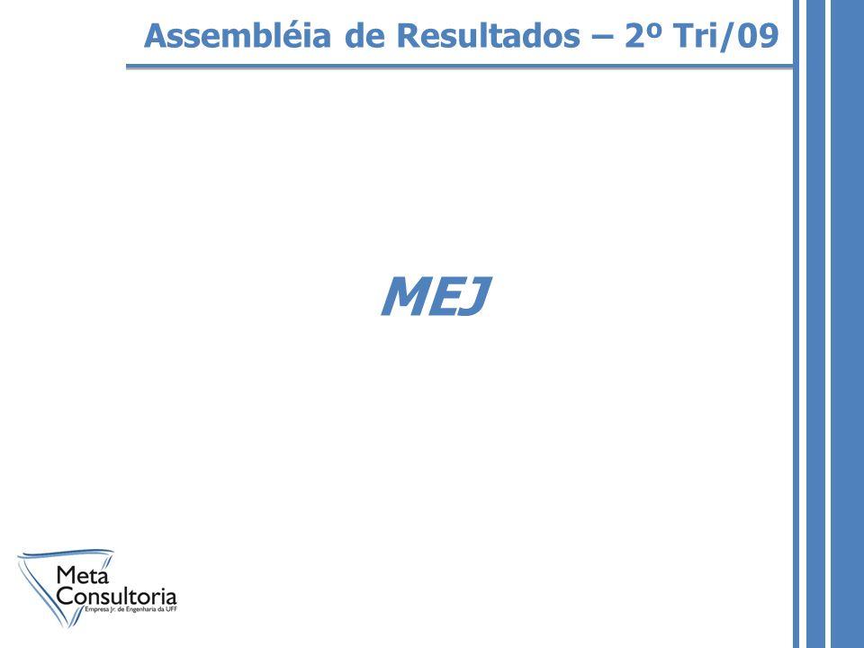 MEJ Assembléia de Resultados – 2º Tri/09