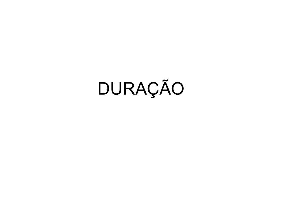 DURAÇÃO
