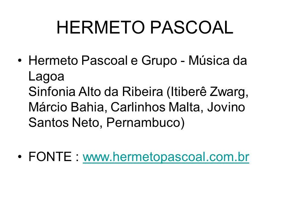 HERMETO PASCOAL Hermeto Pascoal e Grupo - Música da Lagoa Sinfonia Alto da Ribeira (Itiberê Zwarg, Márcio Bahia, Carlinhos Malta, Jovino Santos Neto,