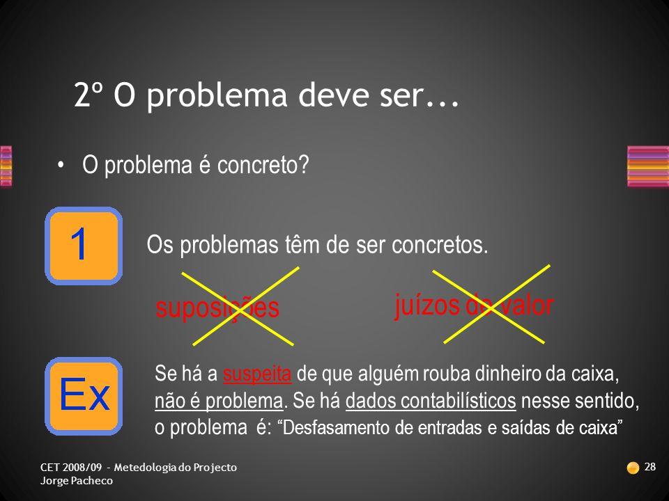 Só assim é possível partilhar e discutir o problema e procurar a solução para se alcançar a situação desejada.
