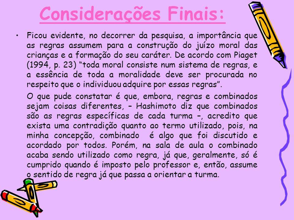 Referencial teórico: ARAÙJO, Ulisses Ferreira de; REGO, Teresa.