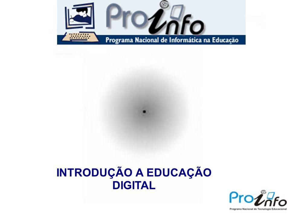 INTRODUÇÃO A EDUCAÇÃO DIGITAL