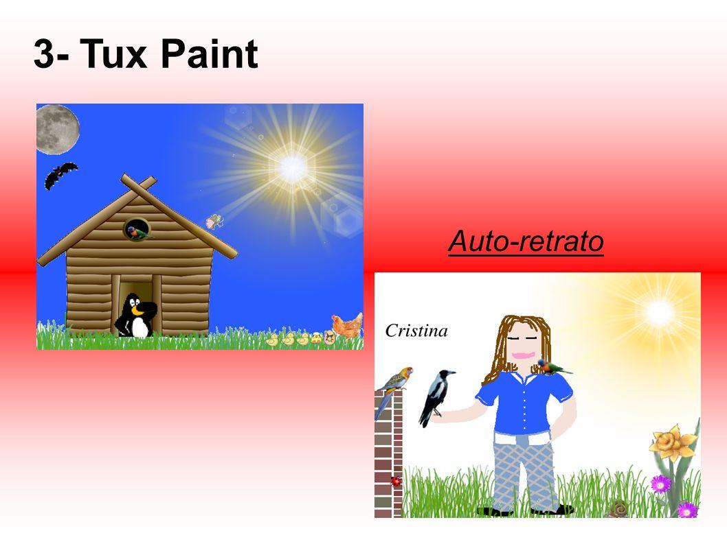 3- Tux Paint Auto-retrato