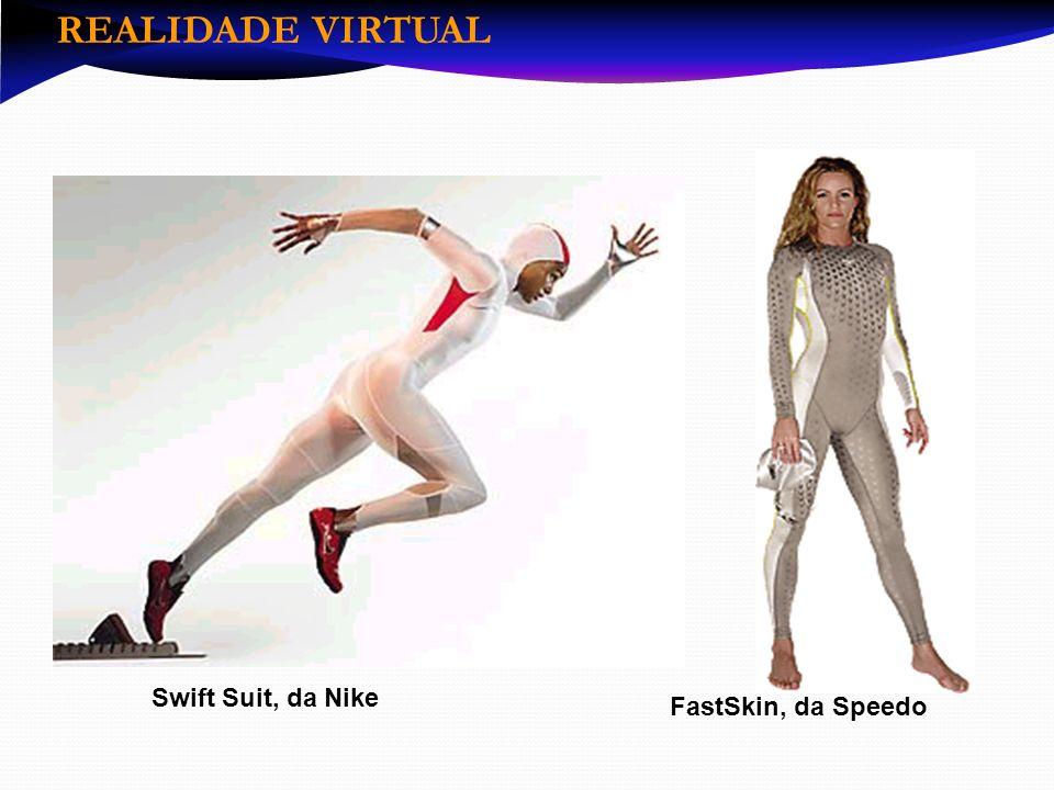 REALIDADE VIRTUAL FastSkin, da Speedo Swift Suit, da Nike