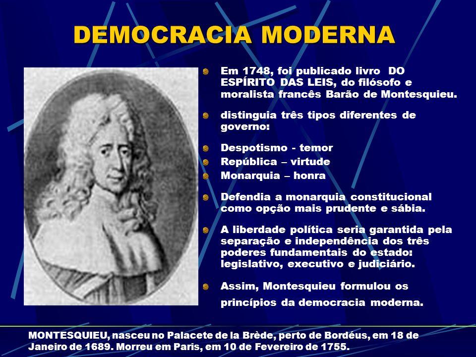 Mesmo se a democracia não esteja funcionando bem, mesmo que seus resultados deixem a desejar, ainda assim vale a pena pagar o seu preço.