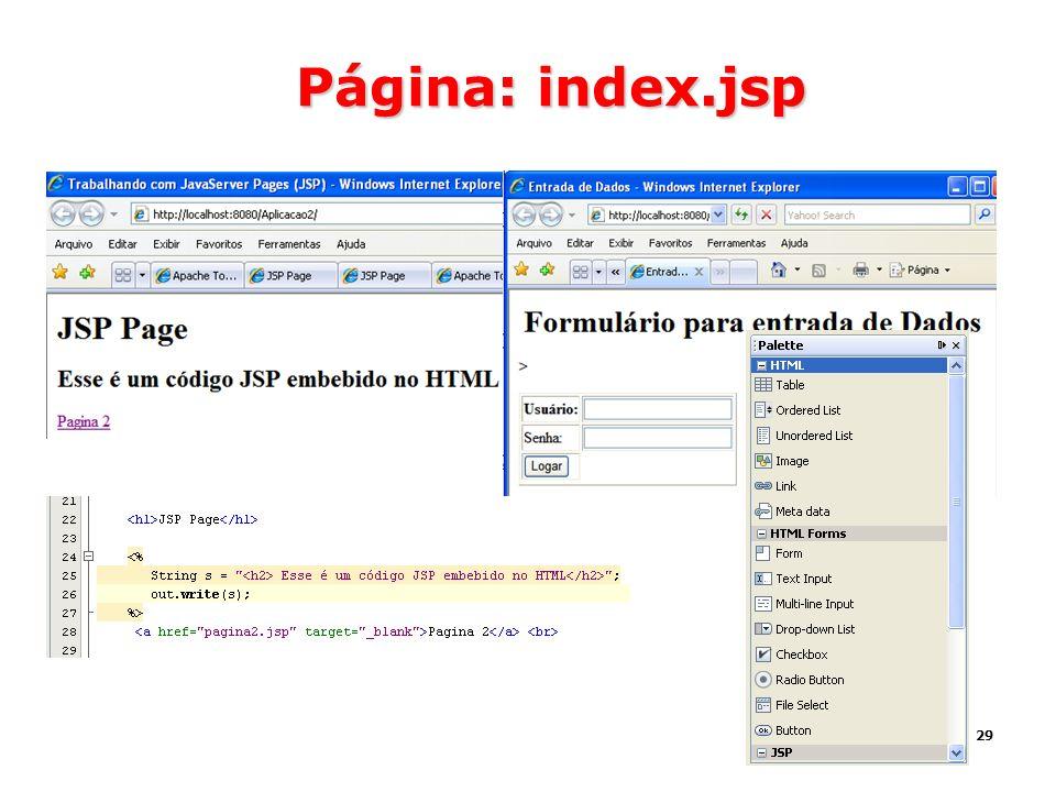 29 Página: index.jsp