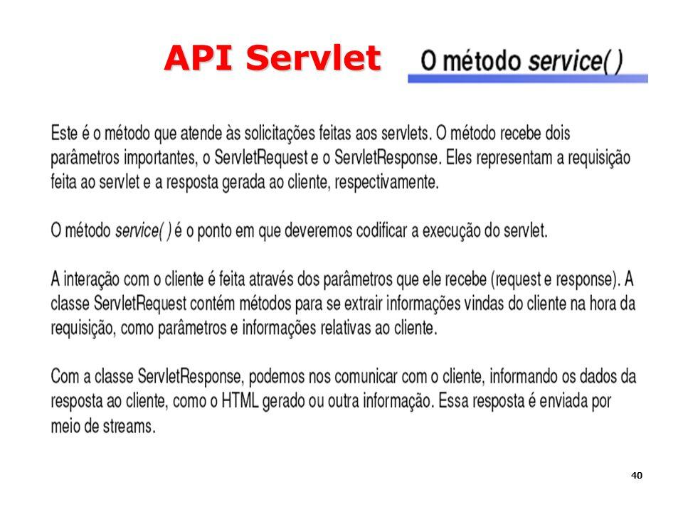 40 API Servlet