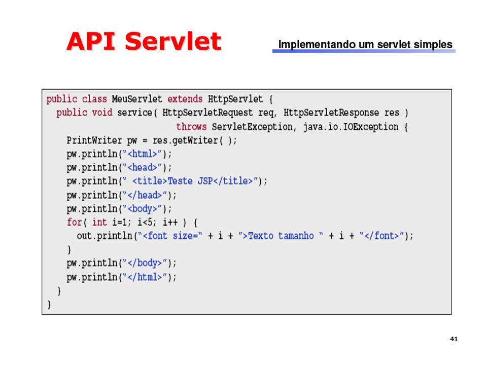 41 API Servlet