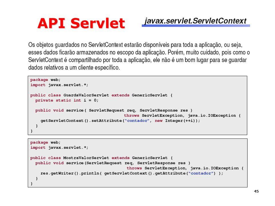45 API Servlet