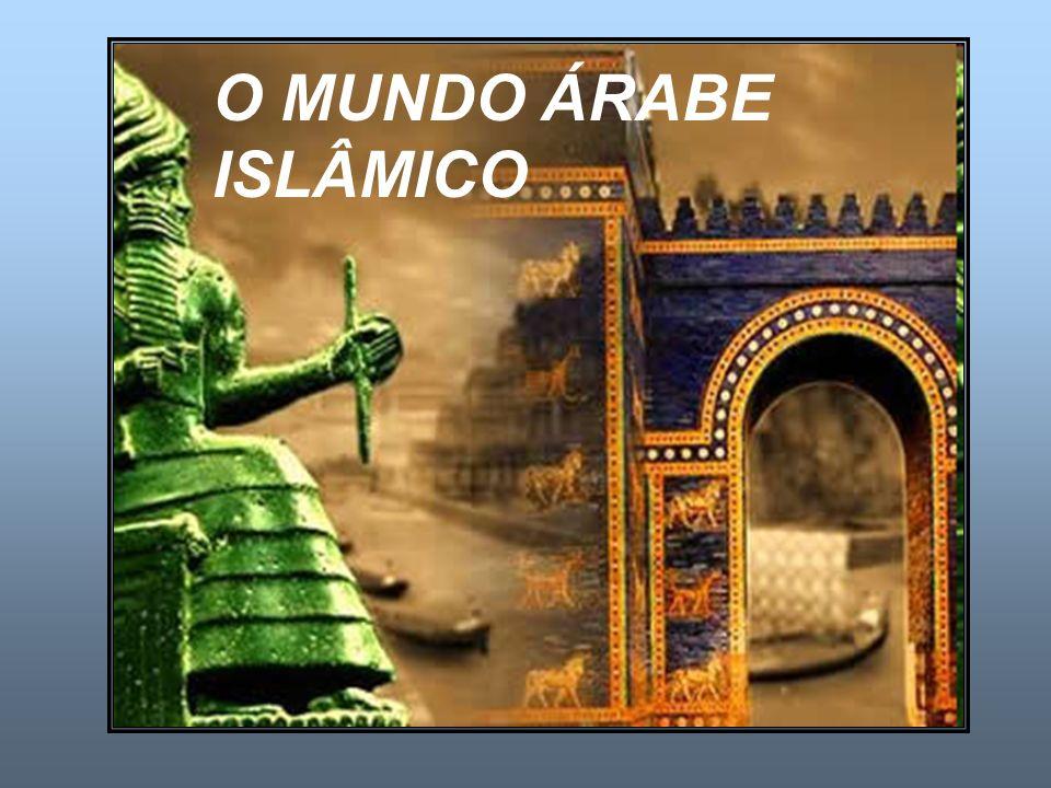ORIGENS DO ESTADO ÁRABE Foi na Península arábica, onde 5/6 do território equivale a áreas desérticas, que a civilização islâmica teve suas origens.