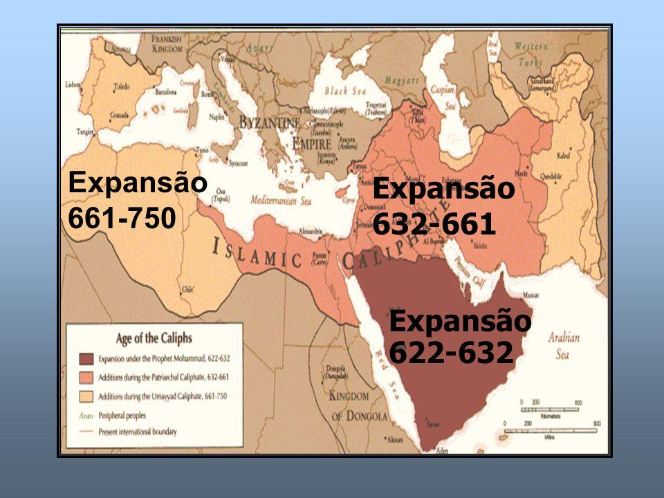 Expansão 622-632 Expansão 632-661 Expansão 661-750
