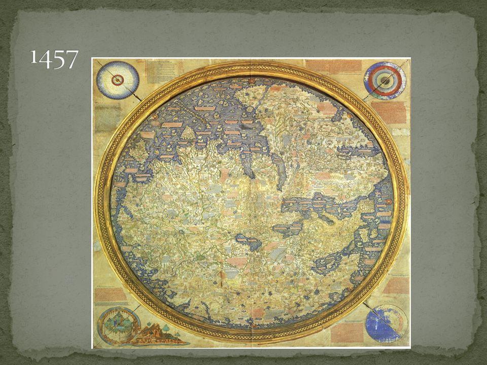 Em 1479, os reinos de Portugal e Castela-Aragão foi firmado o Tratado de Alcáçovas Esse tratado definia as áreas de influência dos dois reinos no Atlântico O limite entre essas áreas de influência era um paralelo que passava aproximadamente pelo Cabo Bojador (27° N) Norte para Castela-Aragão e Sul para Portugal