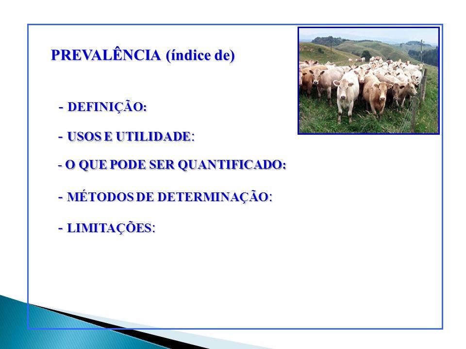 ENDEMIA (Enzootia) - DEFINIÇÃO - PALAVRAS-CHAVE - FATORES NECESSÁRIOS - PARÂMETROS NUMÉRICOS - EXEMPLOS