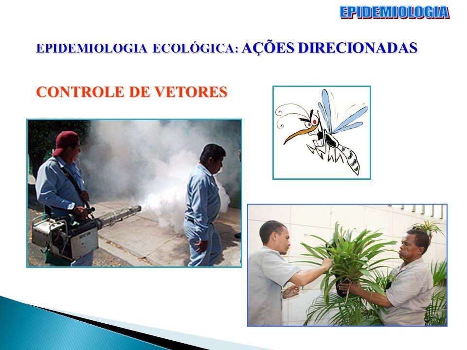 EPIDEMIOLOGIA ECOLÓGICA: AÇÕES DIRECIONADAS CONTROLE DE VETORES
