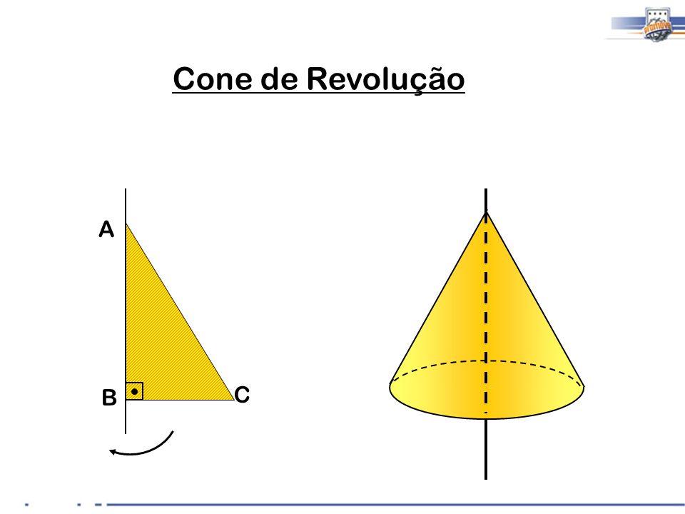 A B C Cone de Revolução