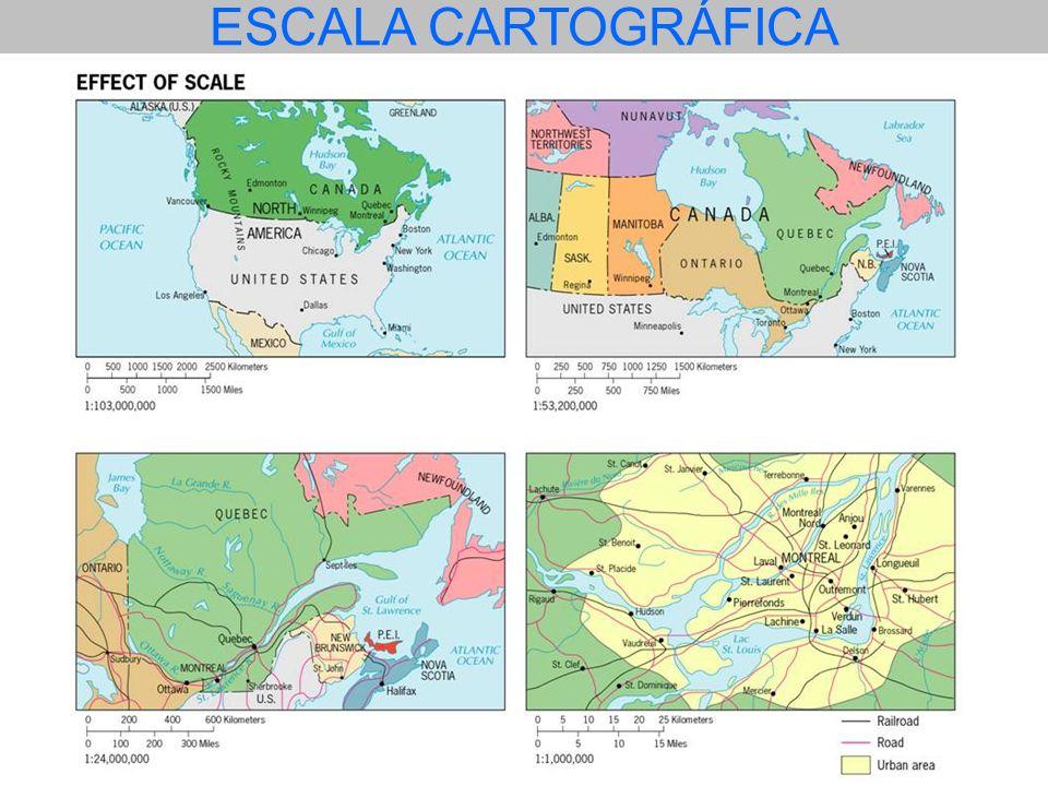 Considere os mapas A, B e C Pode-se dizer que a) os três mapas apresentam a mesma riqueza de detalhes.