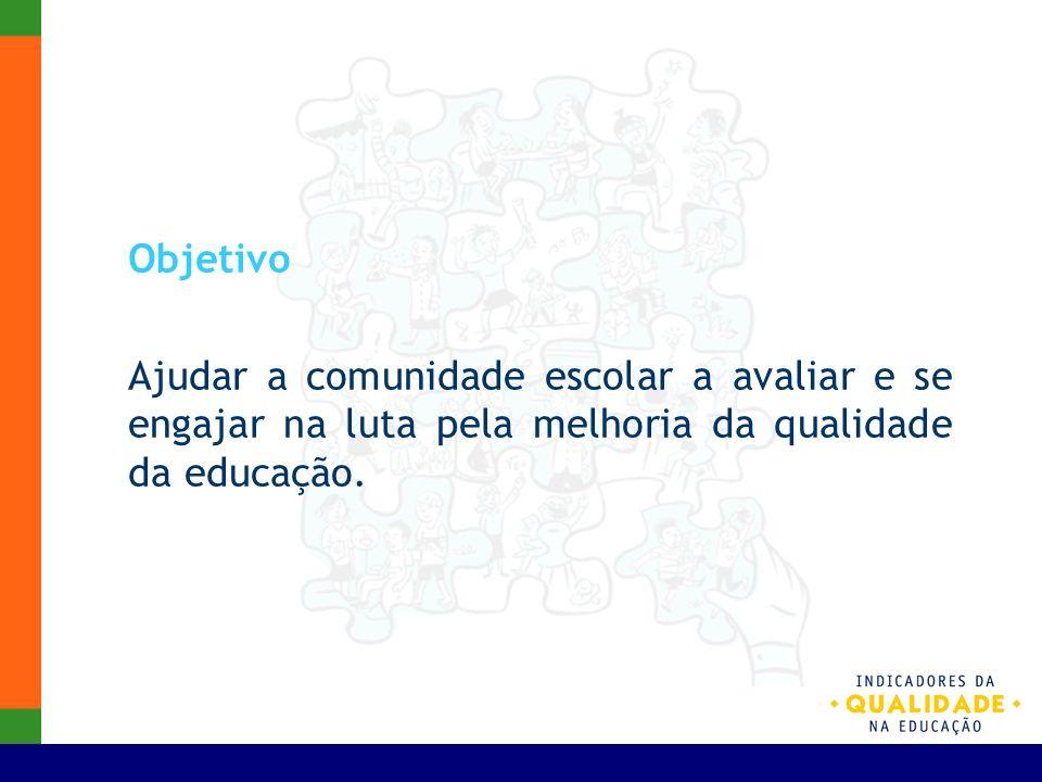 Pode ser usado como um instrumento de gestão Meio de conhecer as escolas e suas especificidades.