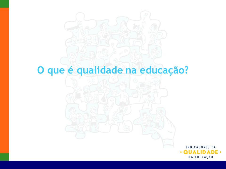 O que é qualidade na educação?