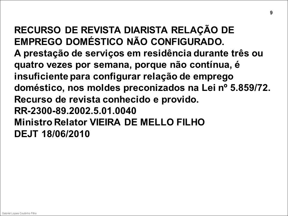 Despedida de empregado e família Precedente Normativo TST nº 53 EMPREGADO RURAL.